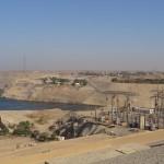 Barragem de Aswan - Acervo pessoal.