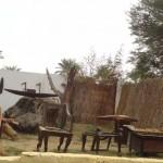 Vila Faraônica (Cairo) - Carpintaria