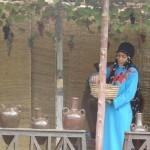 Vila Faraônica (Cairo) - Colheita da Uva..