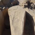 Obelisco inacabado em Aswan - Acervo pessoal.