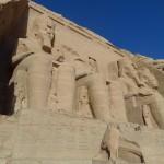 Templo de Ramsés II em Abu Simbel - Acervo pessoal.