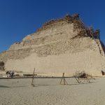 Pirâmide em degraus (Faraó Djoser) arquitetada por Imhotep em Saqqara - Acervo pessoal.