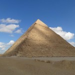 Pirâmide de Khefre (Quéfren) - Acervo pessoal.