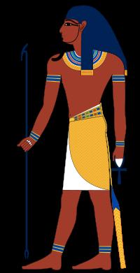 ATUM: É um deus egípcio identificado como uma das primeiras formas do sol. Foi adorado em Heliópolis, lugar de culto ao deus sol. Atum aparece […]