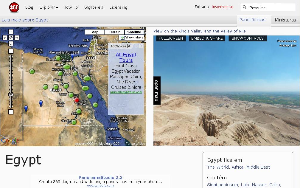 O site 360cities é um site que utiliza de um sistema de imagens para gerar visões em 360 graus de um ambiente. Podemos ter verdadeiros […]