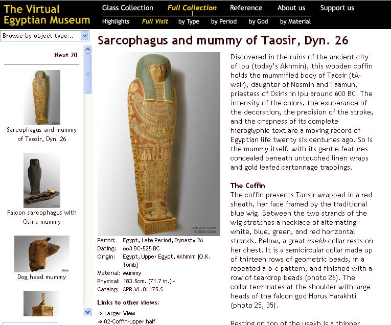 O Virtual Egyptian Museum é um museu online idealizado pelo CIWA (California Institute of World Archaeology), que dentre suas técnicas, usa o raio-x para escanear […]
