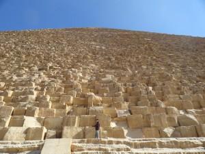 Grande Pirâmide - Face Oeste..