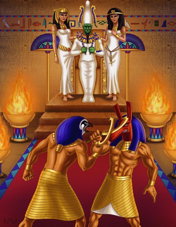 Como visto no mito de Ísis e Osíris, Seth, irmão de Osíris, o assassinou para ficar com o seu trono. Hórus, não conformado com tamanha […]